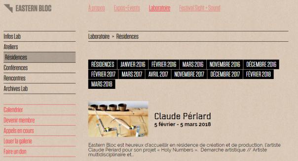 Easternbloc web site