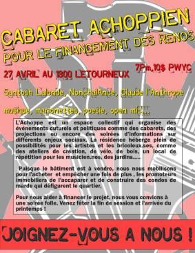 Show l'Achoppe 27 avril